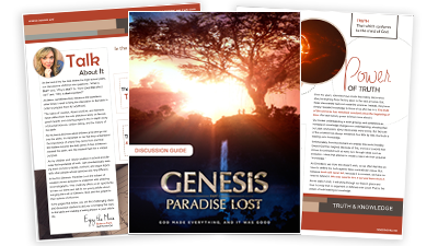 Genesis Movie Discussion Guide for Small Groups